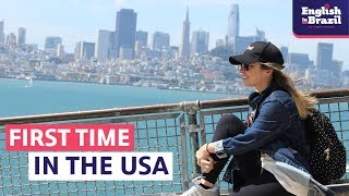MY FIRST TIME IN THE USA | English Vlog (legendado)