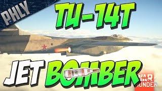 JET TORPEDO BOMBER - TU-14T (War Thunder Devblog)