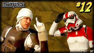 The Unfortunate Moments of STAR WARS Battlefront #12 (Darth Vader Fails, Obeying Dengar's Orders!)