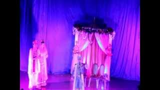 JODHA AKBAR WEDDING BY PILUGINA KIDS - MOSCOW DURGA PUJA 2012