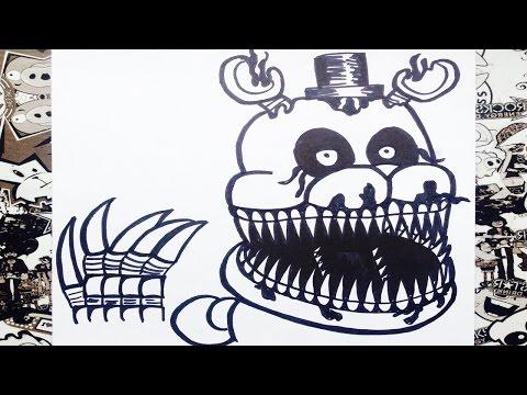Xxx Mp4 Como Dibujar A Nightmare De Five Nights At Freddy S 4 How To Draw Nightmare 3gp Sex