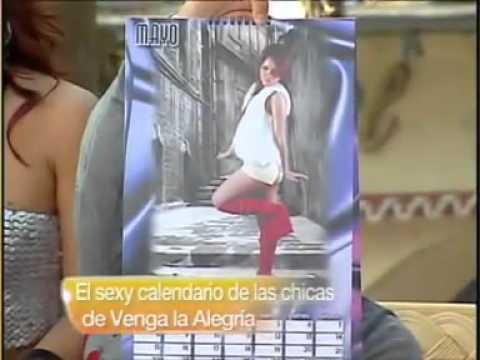 ¡Sexy Calendario De las chicas del Ballet de venga la alegria .flv