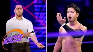 Mustafa Ali returns to confront Hideo Itami: WWE 205 Live, Aug. 28, 2018