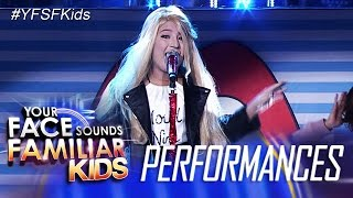 Your Face Sounds Familiar Kids: Elha Nympha as Meghan Trainor- Lips are Movin