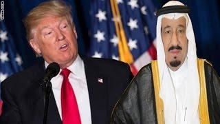 دونالد ترامب | ورد العاهل السعودي الملك سلمان بن عبدالعزيز آل سعود