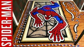 Spider-Man (IN 36,186 DOMINOES!)