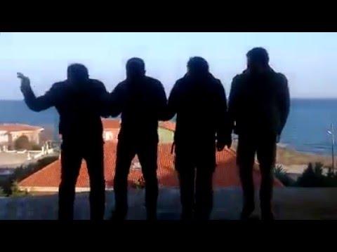Suriyeli kardeşler foklör ekibi