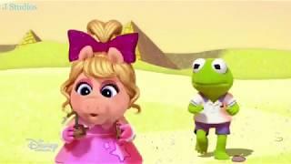 Muppet Babies ❤ Super Fabulous vs Captain Icecube ❤ Piggy