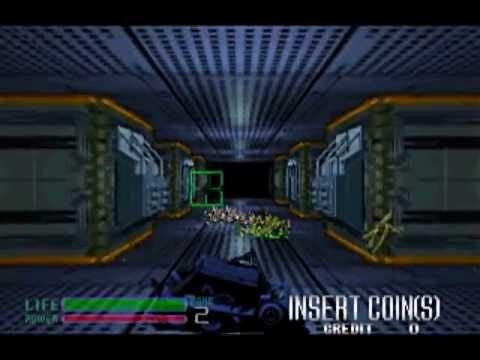 Alien3 the Gun World 1 credit ALL (エイリアン3・ザ・ガン 1コインクリア)