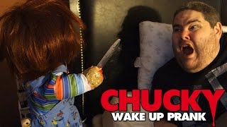 THE CHUCKY DOLL WAKE-UP PRANK!!