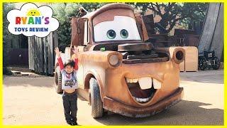 GIANT TOW MATER Life Size DISNEY CARS Family Fun Art