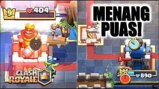 KEMENANGAN KEK GINI YANG BIKIN PALING PUAS! • Clash Royale Indonesia