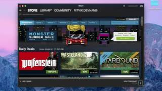 HOW TO DAOWNLOAD AND USE STEAM