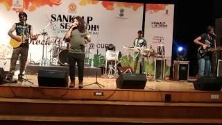 Dil chahta hai song by Azaadi the band| central university rajasthan| sankalp se siddhi|manthan