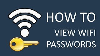 How to view saved WiFi passwords on Windows 10