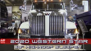2020 Western Star 5700XE Tractor 68'' HigRoof Sleeper - Exterior And Interior - ExpoCam 2019