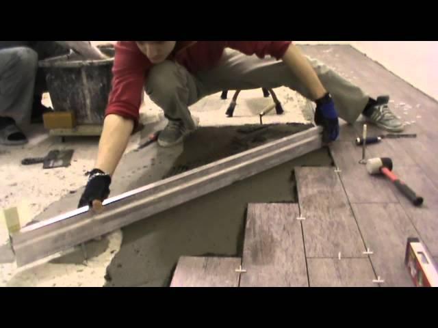 Укладка плитки на полу своими руками самоучитель видео