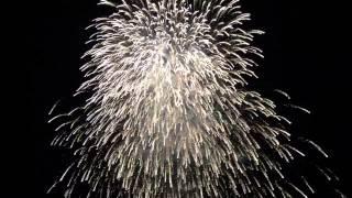柳津町花火大会2015クライマックス!VR迫力満点