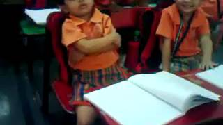 Marathi Small Girl Sleeping in School Funny reactions