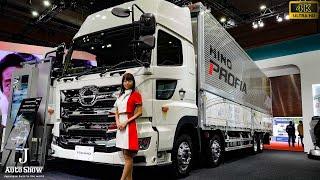 (4K)HINO NEW PROFIA 2RG-FW1AXHG 日野自動車・大型トラック新型プロフィア - 東京モーターショー2017