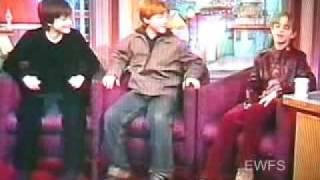 Emma Watson, Rupert Grint & Daniel Radcliffe Rosie O'Donnell