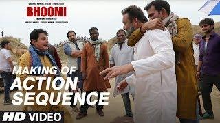 Making of Bhoomi: Action Sequence | Sanjay Dutt, Aditi Rao Hydari
