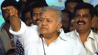 Must Watch: Radha Ravi's Funny Speech About Vishal and Pandavar Ani | Nadigar Sangam Election Fight