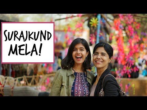 #SejalVlogs: Surajkund Mela with Mom!