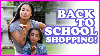 Back to School Shopping with Heaven and Tianne