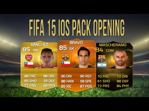 FIFA 15 IOS Pack Opening