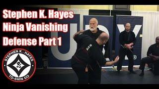 Grand Master Stephen K. Hayes: Ninja Vanishing Defense Part 1