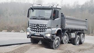 Mercedes Arocs (2013) OFF-ROAD TEST DRIVE