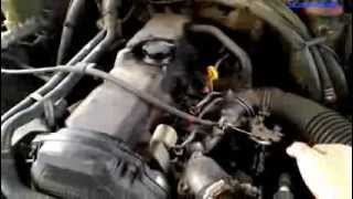 Toyota 3L Engine View