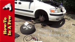 HowTo: Change Front Brake Pads On A Chevy Venture