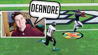I Unlocked Deandre Hopkins superstar ability, and my opponent freaked out!