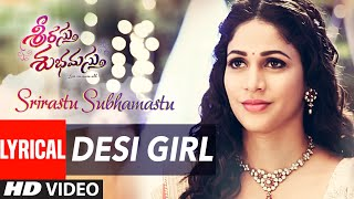 Desi Girl Lyrical Video Song ||
