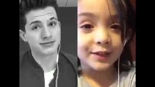 (duet on Smule app) One Call Away - Charlie Puth & Joana