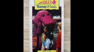 Opening To Barney:The Treasure Of Rainbow Beard 1992 VHS