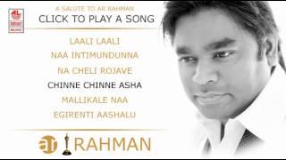 A R Rehman Telugu Hit Songs | Jukebox | Roja Telugu Movie Songs