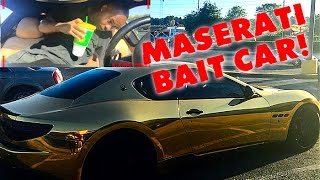 Gold Maserati