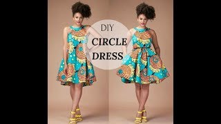✂️👗DIY:CIRCLE DRESS   UMBRELLA DRESS