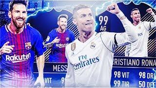 FIFA 18 - ON TESTE MESSI TOTY ET RONALDO TOTY  !!!