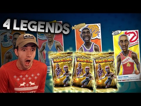 4 LEGEND PULLS IN ONE PACK OPENING + NBA Playgrounds Legend Gameplay