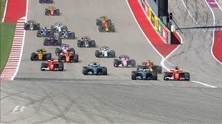 2017 US Grand Prix: Race Highlights