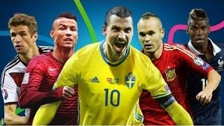 Top 10 Extremly Strikers Euro 2016 - Ranking the 10  best Players Football Euro 2016 In France