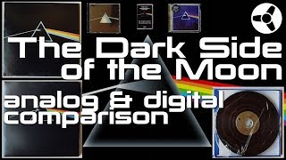 The Dark Side of the Moon: analog & digital comparison (CD, SACD, Vinyl, Tape)