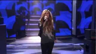 Demi Lovato - Give Your Heart A Break (Live on American Idol)