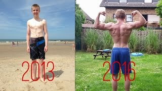 Insane 2 Year Transformation! - Street Workout