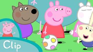 Peppa Pig Episodes - The football match (clip) - Cartoons for Children