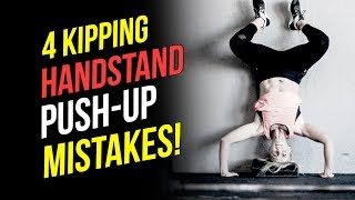 Fix Your Kipping HSPU (4 Biggest Mistakes With HSPU Technique)